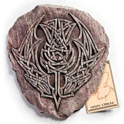 Celtic Thistle Wall Plaque